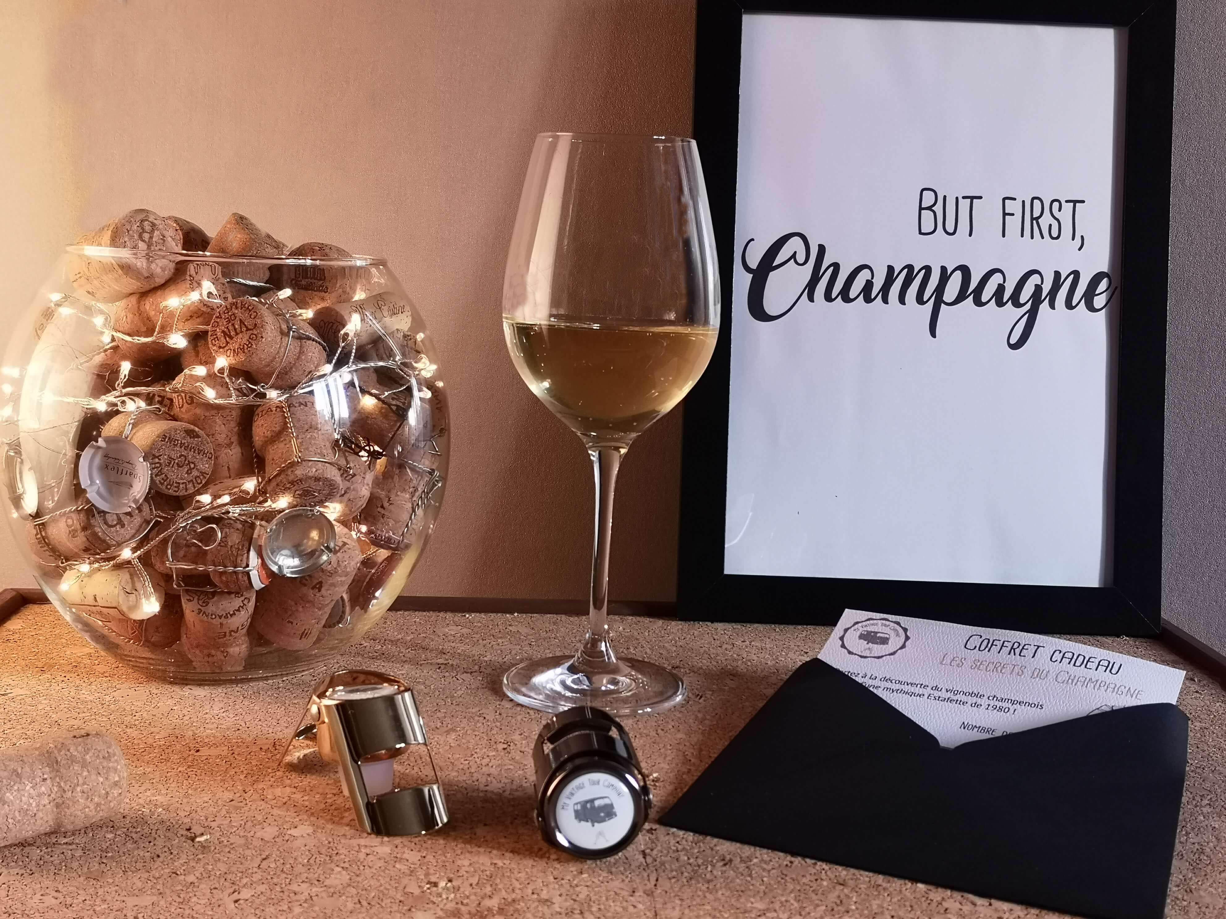 Balades insolites en Champagne My Vintage Tour Company coffret cadeau