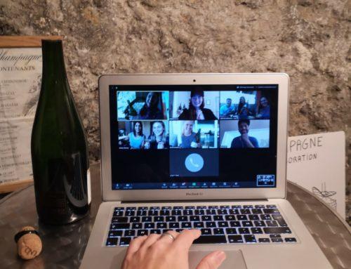 Expérience en ligne : Sabrage d'une bouteille de Champagne